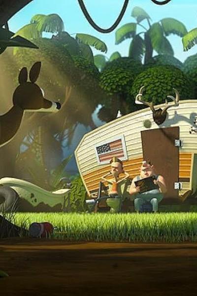 Caratula, cartel, poster o portada de Scoutin\' for Skunk-Ape!