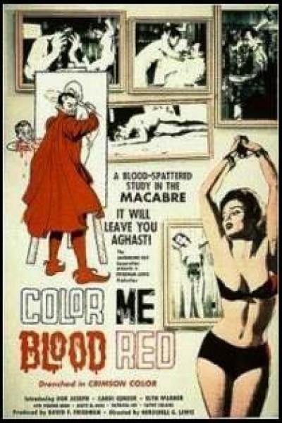 Caratula, cartel, poster o portada de Color Me Blood Red