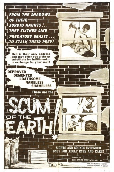 Caratula, cartel, poster o portada de Scum of the Earth!