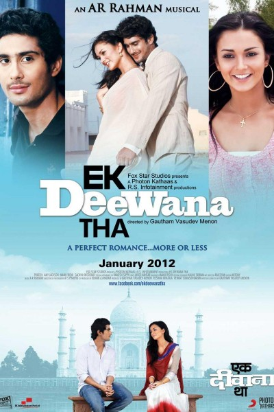 Caratula, cartel, poster o portada de Ekk Deewana Tha