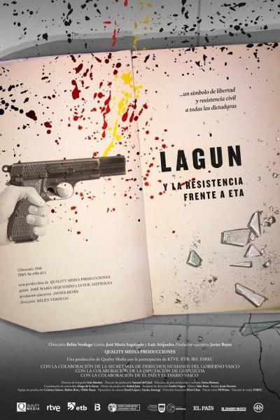 Caratula, cartel, poster o portada de Lagun y la resistencia frente a ETA