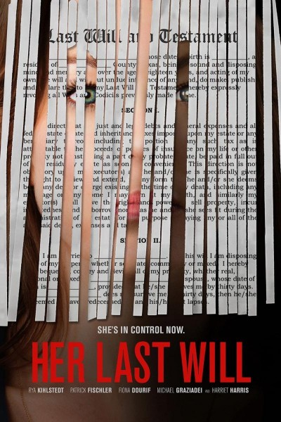 Caratula, cartel, poster o portada de Her Last Will