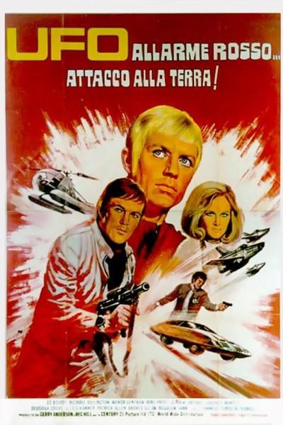 Caratula, cartel, poster o portada de Ovni - Los diablos rojos atacan la Tierra.