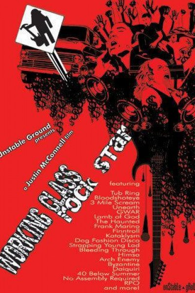Caratula, cartel, poster o portada de Working Class Rock Star