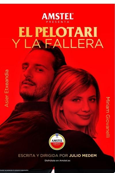 Caratula, cartel, poster o portada de El pelotari y la fallera