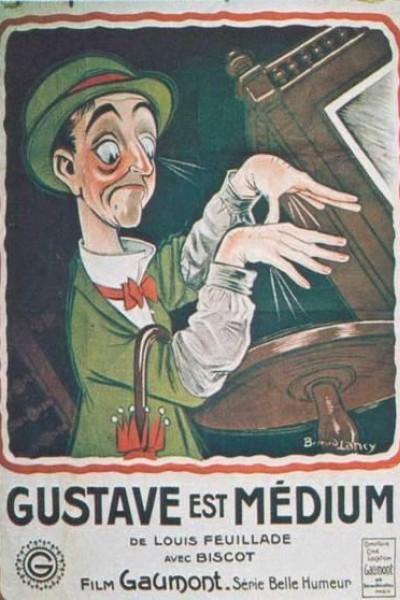 Caratula, cartel, poster o portada de Gustave est médium