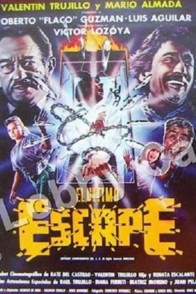 Caratula, cartel, poster o portada de El último escape