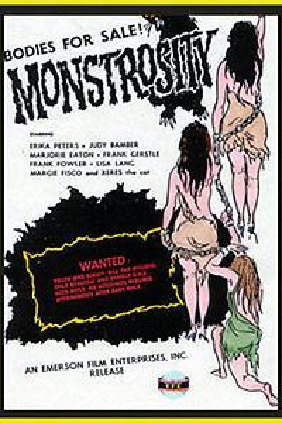 Caratula, cartel, poster o portada de Monstrosity