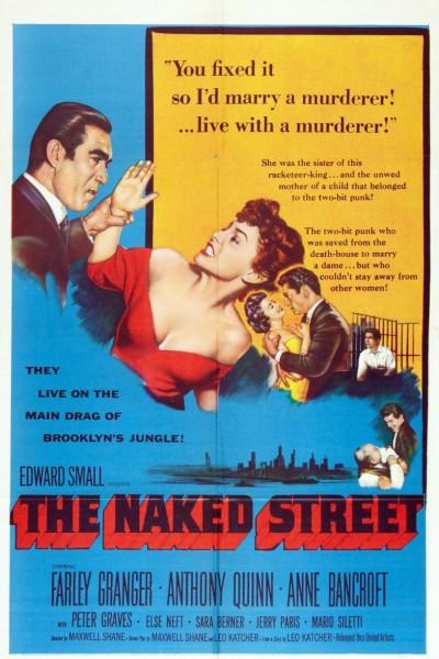 Caratula, cartel, poster o portada de La calle desnuda