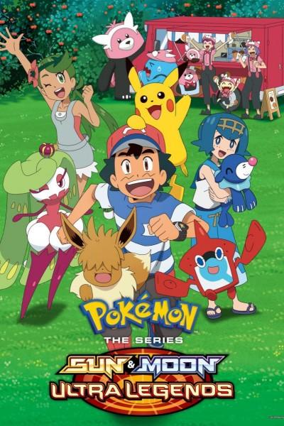 Caratula, cartel, poster o portada de Pokémon the Series: Sun & Moon—Ultra Legends