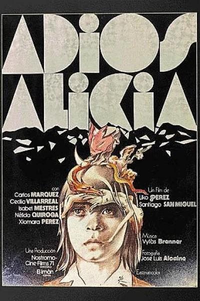 Caratula, cartel, poster o portada de Adiós, Alicia