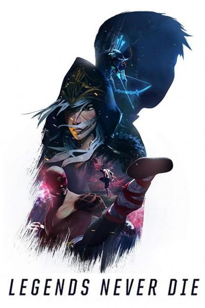 Caratula, cartel, poster o portada de League of Legends: Legends Never Die