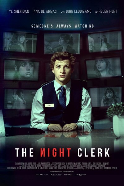 Caratula, cartel, poster o portada de The Night Clerk