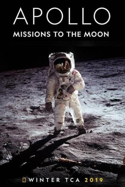 Caratula, cartel, poster o portada de Apolo: Misiones a la Luna