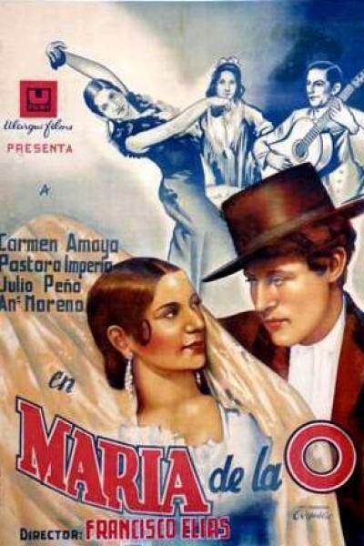 Caratula, cartel, poster o portada de María de la O.