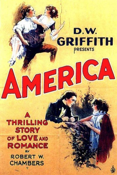 Caratula, cartel, poster o portada de América