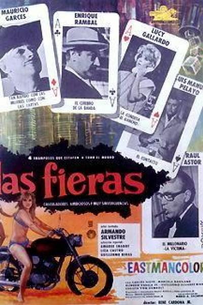 Caratula, cartel, poster o portada de Las fieras