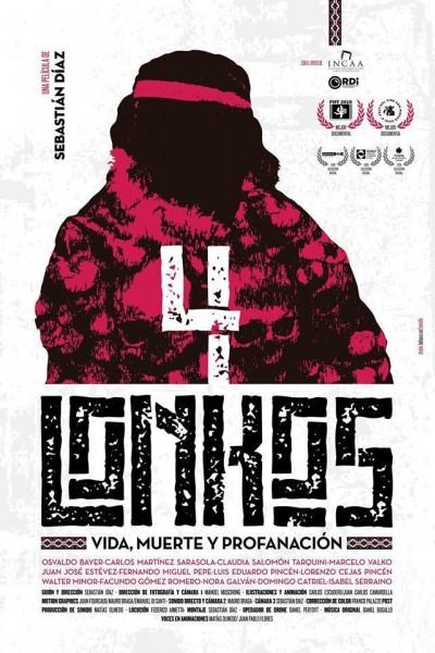 Caratula, cartel, poster o portada de 4 lonkos: Vida, muerte y profanación
