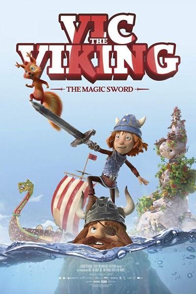 Caratula, cartel, poster o portada de Vic the Viking and the Magic Sword