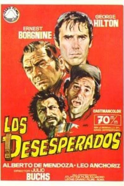 Caratula, cartel, poster o portada de Los desesperados