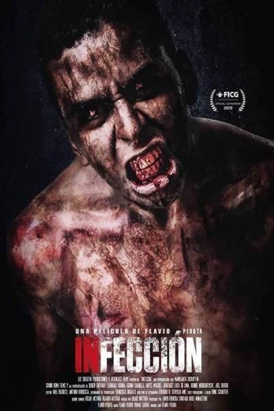 Caratula, cartel, poster o portada de Infección