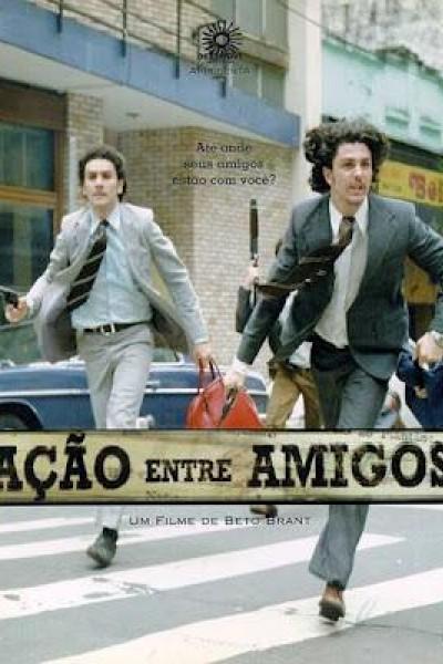 Caratula, cartel, poster o portada de Ação Entre Amigos