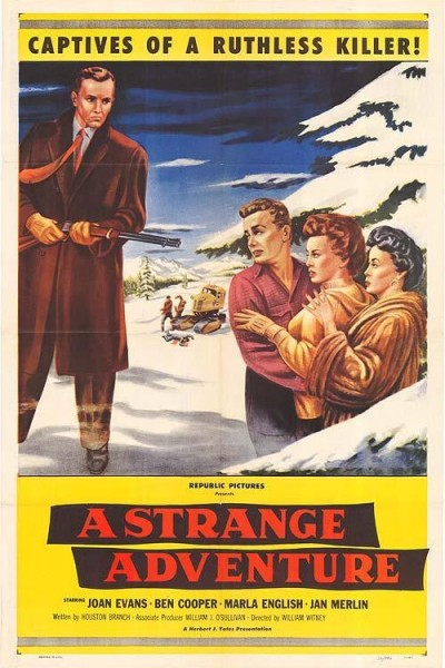 Caratula, cartel, poster o portada de A Strange Adventure