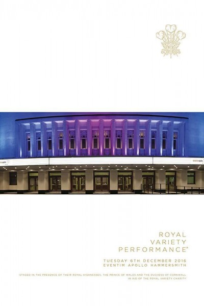 Caratula, cartel, poster o portada de The Royal Variety Performance 2016