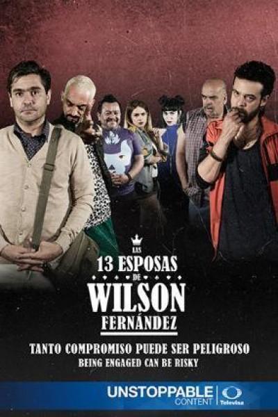 Caratula, cartel, poster o portada de Las 13 esposas de Wilson Fernández