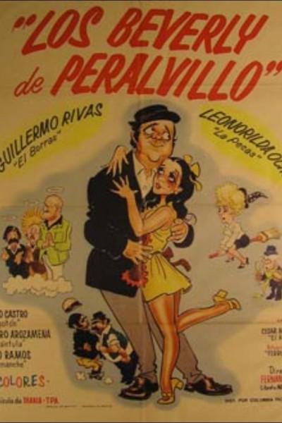 Caratula, cartel, poster o portada de Los Beverly de Peralvillo