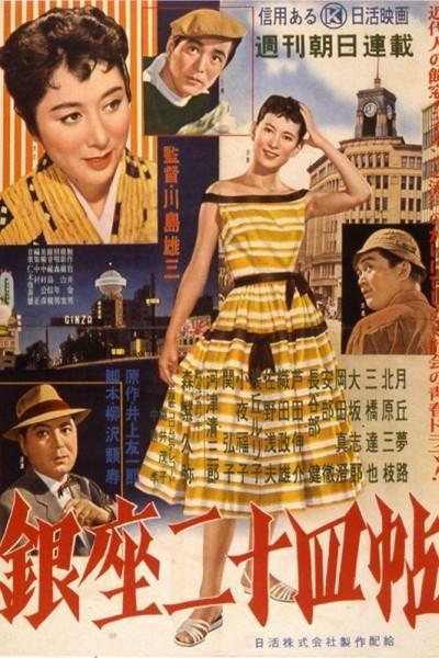 Caratula, cartel, poster o portada de Tales of Ginza