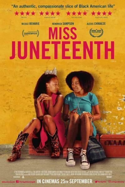 Caratula, cartel, poster o portada de Miss Juneteenth
