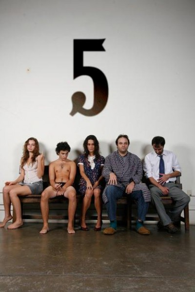 Caratula, cartel, poster o portada de Cinco