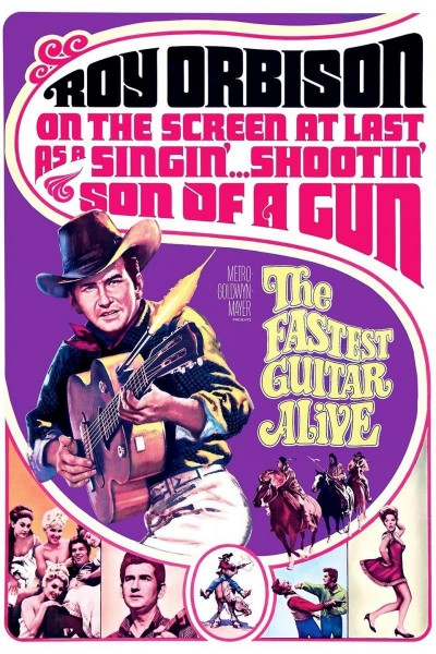 Caratula, cartel, poster o portada de The Fastest Guitar Alive