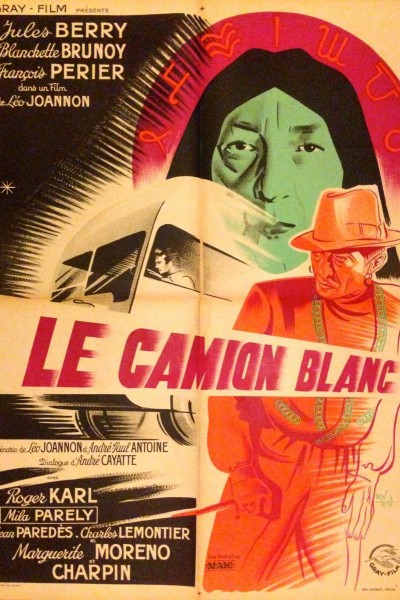 Caratula, cartel, poster o portada de Le camion blanc
