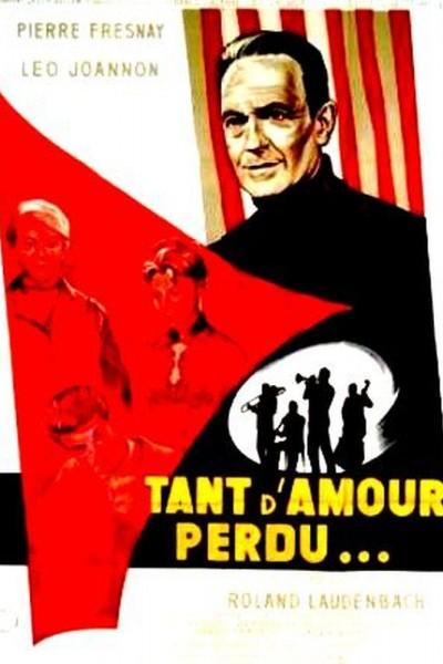 Caratula, cartel, poster o portada de Tant d\'amour perdu
