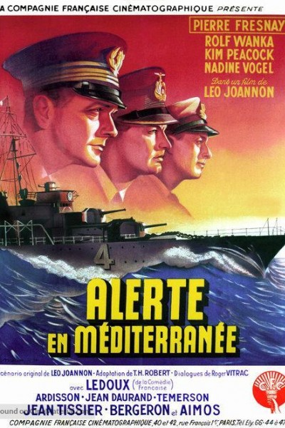 Caratula, cartel, poster o portada de Alerta en el Mediterráneo