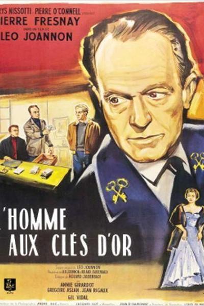 Caratula, cartel, poster o portada de El hombre de las llaves de oro