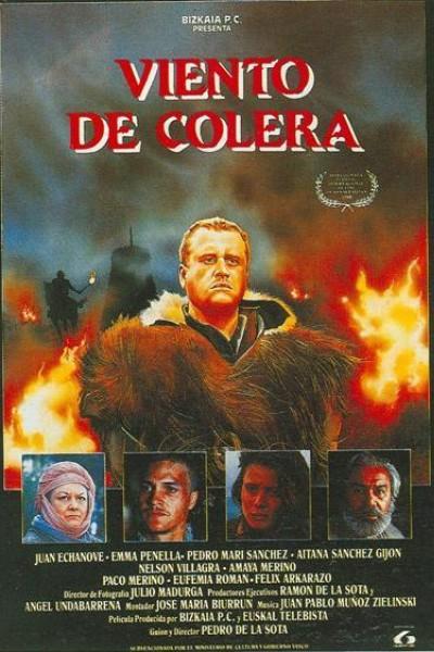 Caratula, cartel, poster o portada de Viento de cólera