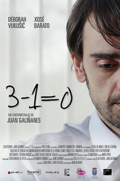Caratula, cartel, poster o portada de 3-1=0