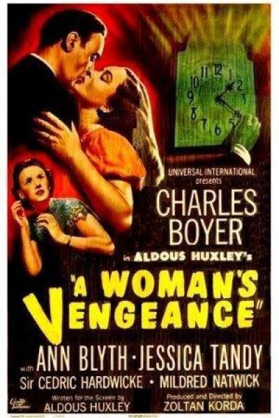 Caratula, cartel, poster o portada de Venganza de mujer