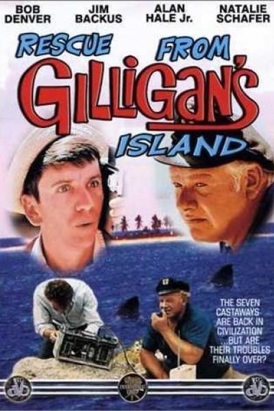 Caratula, cartel, poster o portada de El rescate de la isla de Gilligan