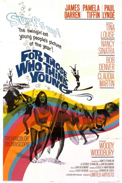 Caratula, cartel, poster o portada de Para aquellos que se sienten jóvenes