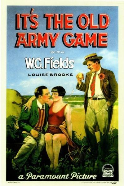 Caratula, cartel, poster o portada de It\'s the Old Army Game