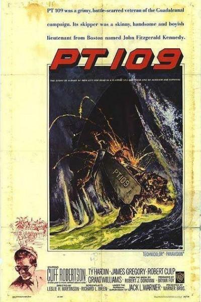 Caratula, cartel, poster o portada de Patrullero PT 109