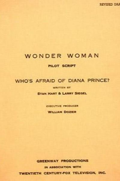 Caratula, cartel, poster o portada de Wonder Woman: Who\'s Afraid of Diana Prince?