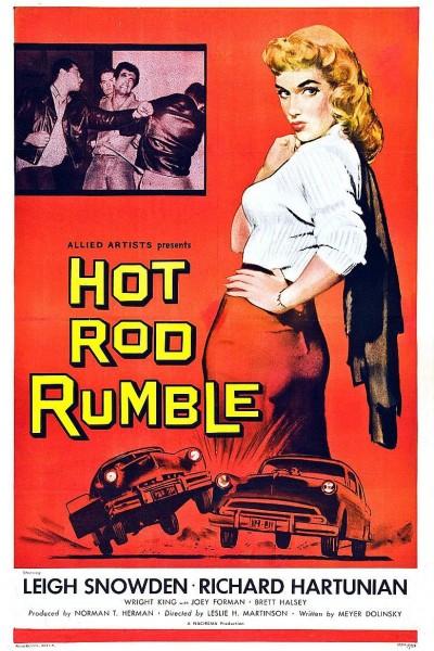 Caratula, cartel, poster o portada de Hot Rod Rumble