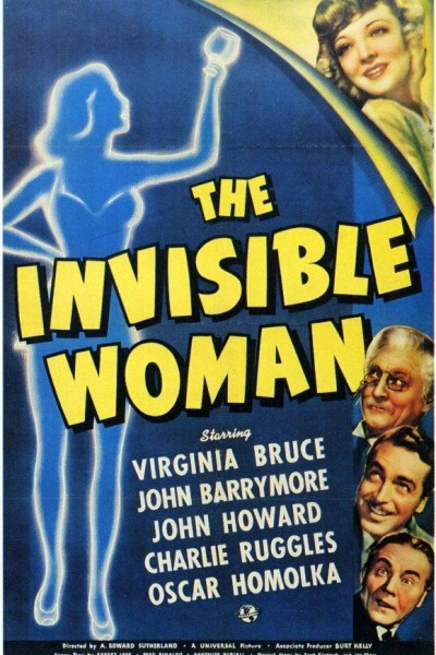 Caratula, cartel, poster o portada de La mujer invisible