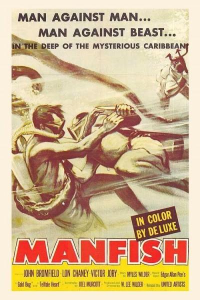 Caratula, cartel, poster o portada de Manfish