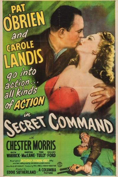 Caratula, cartel, poster o portada de Comando Secreto